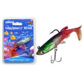 "144 Units of Fishing W/3 Hook 3.2"" 3asst Color - Fishing Items"
