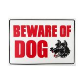144 Units of Sign W/Beware Of Dog 20*30cm - Signs & Flags