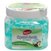 72 Units of Crystal Bead 12oz Outdoor Meadows - Air Fresheners