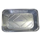 100 Units of Aluminum Pan 1/2 size