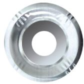 1000 Units of Aluminum Burner Cover Round - Aluminum Pans