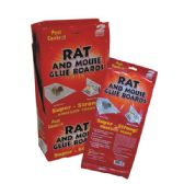 48 Units of Pest Control Rat & Mouse Glue Board 2PK Display - Pest Control