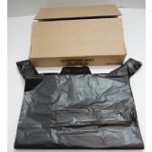 "630 Units of 32"" Black Plastic Bags - Bags Of All Types"