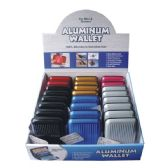 48 Units of Wallet Aluminum Solid Display