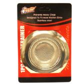 72 Units of Sink Strainer 1PK Stainless Steel - Strainer/Funnel