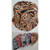 24 Units of Bucket Hat [Tiger Print] - Bucket Hats