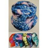 24 Units of Bucket Hat--[Tie Dye] - Bucket Hats