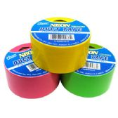 96 Units of Tape Duct 10yds Neon Colors
