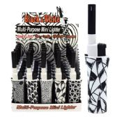 100 Units of Lighter Mini BBQ Black & White - LIghters