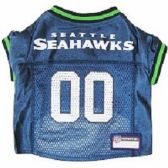24 Units of NFL SEATTLE SEAHAWKS MESH JERSEY - Pet Accessories