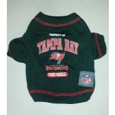 24 Units of NFL TAMPA BAY BUCANEERS T-SHIRT - Pet Toys