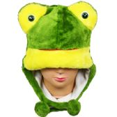 36 Units of Winter Animal Hat Frog