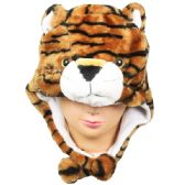 36 Units of Winter Animal Hat Tiger