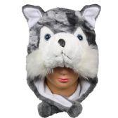 12 Units of Winter Animal Hat Fox - Winter Animal Hats
