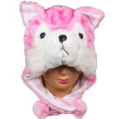 36 Units of Winter Animal Hat PINK