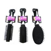 "96 Units of Hair Brush 9"" Long 3asst Color rpink,Purple - Hair Brush"