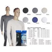 36 Units of Mens Thermal Set In Black