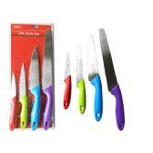 24 Units of 4 Piece Knife Set - Kitchen Knives
