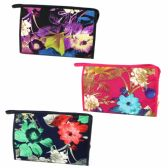 120 Units of LARGE COSMETIC BAG IN A LAMINATE MATERIAL IN ASSORTED PRINTS AND COLORS - Cosmetic Cases