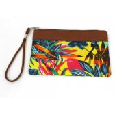 120 Units of FABRIC WRISTLET IN MANY ASSORTED COLORS AND PRINTS - Handbags