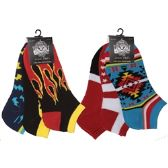 120 Units of Men's ankle socks in assorted styles size 10-13