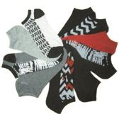 168 Units of Women's no show socks in size 9-11