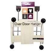 24 Units of Hanger Over Door Metal 4 Hook - Hooks/Hook Racks