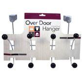24 Units of Hanger Over Door Metal 8 Hook - Hooks/Hook Racks