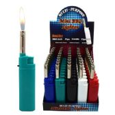 100 Units of Lighter Mini BBQ plain Solid Colors - LIghters