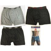 24 Units of LEO Man's Boxer - Mens Underwear