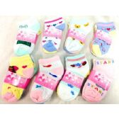 600 Units of Baby Socks in Assorted Styles - Baby Apparel