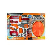 6 Units of Tool Play Set with Helmet - Toy Sets