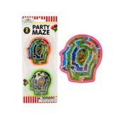 72 Units of Halloween Party Brain Mazes