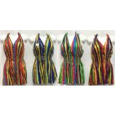 24 Units of Halter Neck Multi-color Shirts in Assorted Colors - Womens Fashion Tops