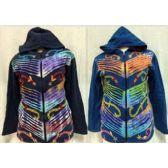 6 Units of Nepal Handmade Fleece Lined Jackets Patchwork Designs - Woman's Winter Jackets