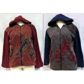 6 Units of Nepal Fleece Lined Jackets with Feather Design - Woman's Winter Jackets