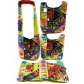 15 Units of Nepal Hobo Bags Three Flowers with Pocket - Shoulder Bags & Messenger Bags