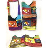 10 Units of Nepal Hobo Bags Peace Dove with Olive Branch - Shoulder Bags & Messenger Bags