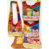 10 Units of Nepal Hobo Bags Dove with Pocket Design - Shoulder Bags & Messenger Bags