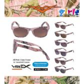 48 Units of Kids Pink Camo Sunglasses with Assorted Lens - Kids Sunglasses