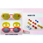 96 Units of Colorful Kids Sunglasses Assorted Colors - Kids Sunglasses
