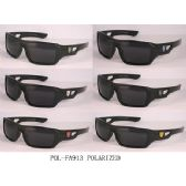 24 Units of Man Sports Sunglasses Assorted Colors and Polaried Lens - Sport Sunglasses