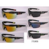 36 Units of Man Sports Sunglasses Assorted Colors and Lens - Sport Sunglasses