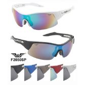 36 Units of Man Sports Sunglasses Plastic Frames Assorted - Sport Sunglasses