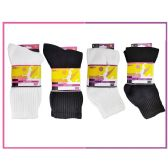 60 Units of Ladies Sport Crew 3 Piece Pack-White Size 9-11
