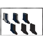 60 Units of Mens 3 Pair Pack Work Boot Socks SIze 10-13
