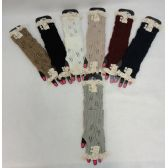 36 Units of Hand Warmers [Antique Lace-2 Pearls] - Arm & Leg Warmers
