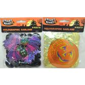 144 Units of 9' H'llween 3D Character Garland - Halloween & Thanksgiving