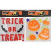 144 Units of Halloween Gel Stickers - Halloween & Thanksgiving