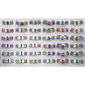 432 Units of STAINLESS STEEL RINGS - Rings